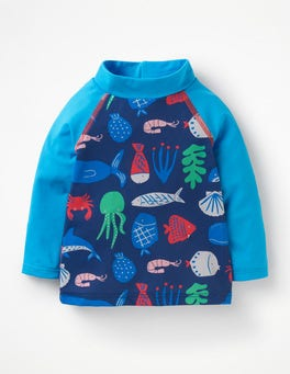 Multi Deep Sea Fun Rash Vest