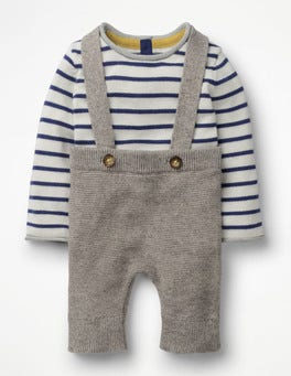 Grey Marl Nostalgic Knitted Play Set