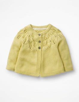 Primrose Yellow Cosy Cardigan