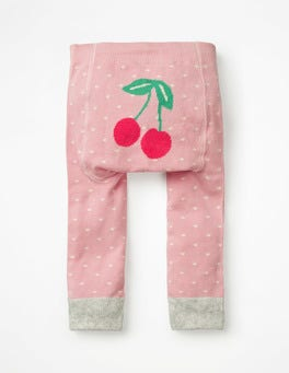 Shell Pink Knitted Leggings
