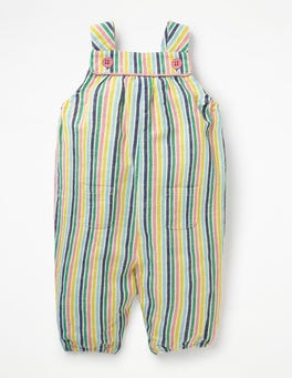 Stripy Woven Dungaree