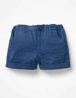 Lagoon Blue Colourful Woven Shorts