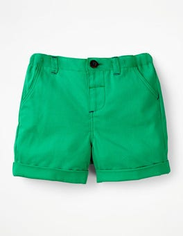 Astro Green Colourful Woven Shorts