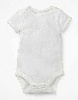 White Sweet Pointelle Body