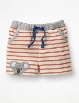 White/Beam Red Koala Fun Jersey Shorts
