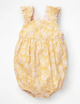 Mimosa Forget-Me-Not Frilly Bubble Romper