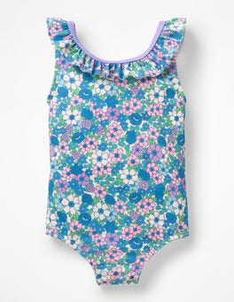 Parasol Pink Forget- Me- Not Bow Detail Swimsuit