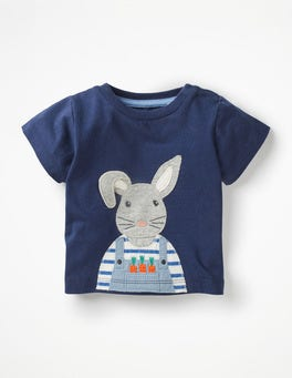 College Blue Bunny On-the-farm T-shirt