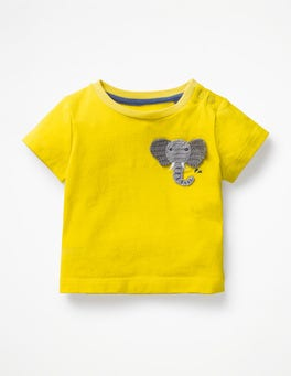 Sweetcorn Yellow Elephant Crochet Friends T-shirt