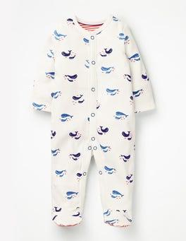 Cosy Printed Sleepsuit