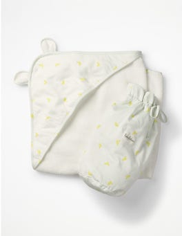 Yellow Baby Ducks Supersoft Hooded Towel