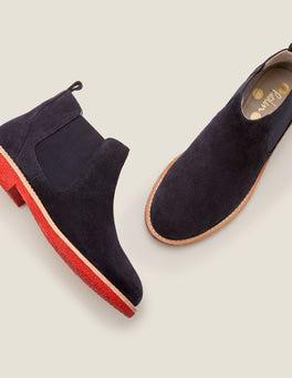 Navy Oakington Ankle Boots
