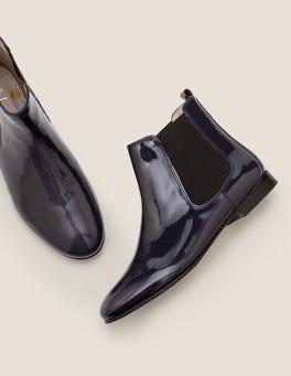 Navy, Lack Leaton Chelsea-Boots