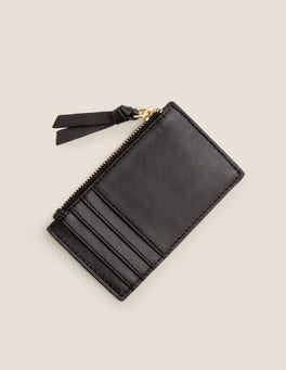Leather Coin & Card Holder