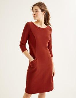 Conker Jasmine Ottoman Dress
