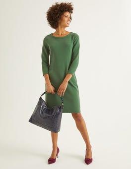 Ackerbohnengrün Jasmine Ottoman-Kleid