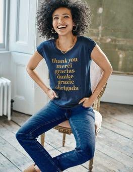 Robyn T-Shirt aus Jersey