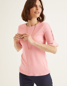 Chalky Pink Bella Ponte Top