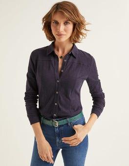 Navy Tara Jersey Shirt