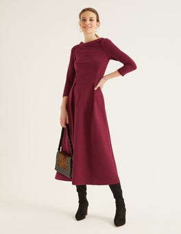 Ruby Ring Violet Ottoman Dress