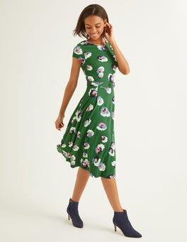 Broad Bean, Painted Daisy Aida Ponte Dress