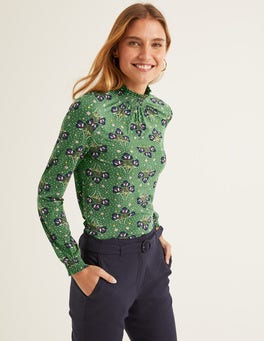 Broad Bean, Star Bouquet Connie Jersey Top
