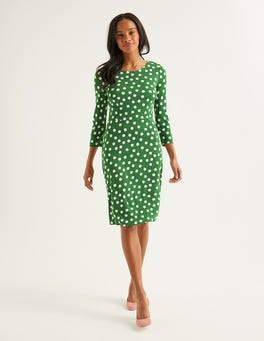 Broad Bean, Brand Polka Dot Theodora Ponte Dress