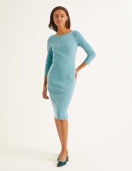 Heritage Blue Aurelia Ottoman Dress
