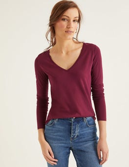 Ruby Ring Supersoft V-neck Tee