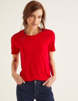Post Box Red Supersoft Short Sleeve Tee