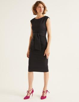 Black Jessica Ponte Dress