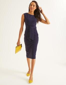Navy Jessica Ponte Dress