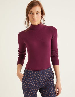 Ruby Ring Tilly Roll Neck Jumper