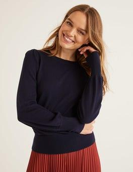 Navy Antonia Sweater