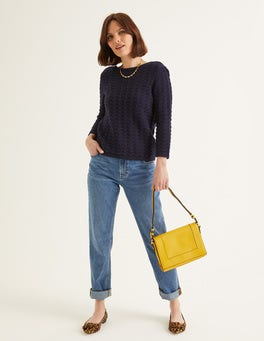 Navy Amelie Sweater