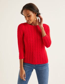 Postbox Red Amelie Jumper