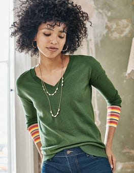 Cassandra V Neck Sweater