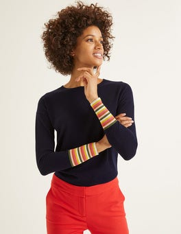 Navy Cassandra Sweater