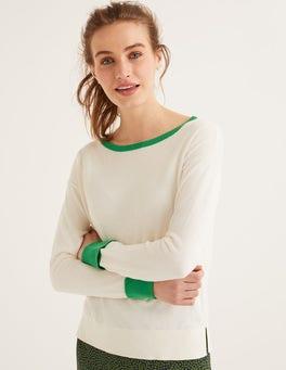 Naturweiß Lucille Pullover