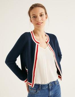 Navy Daisy Cardigan