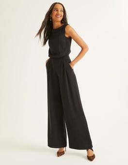 Black Clarissa Jumpsuit