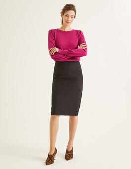 Black Richmond Pencil Skirt