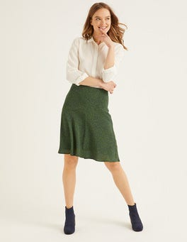 Navy, Cluster Spot Virginia Skirt