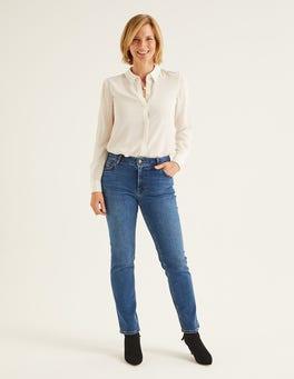 Mid Vintage Slim Straight Jeans