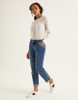 Light Vintage Girlfriend Jeans