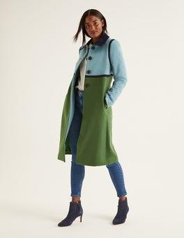 Ackerbohnengrün Lovelace Mantel