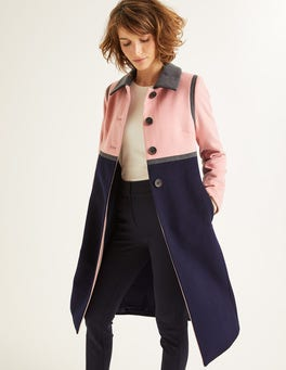 Navy Lovelace Coat