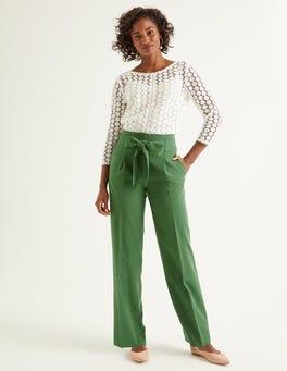 Ackerbohnengrün Ketton Hose mit weitem Bein