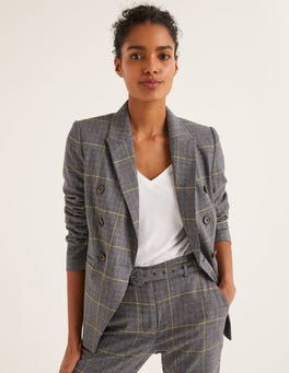 Navy/Gelb, KariertAddlestone Tweed-Blazer