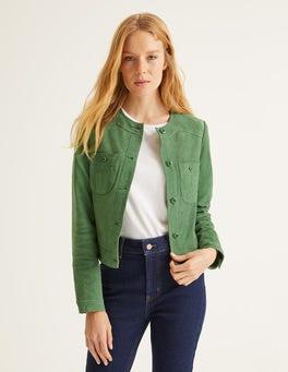 Ackerbohnengrün Behn Kurze Jacke